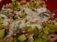 avocado con gamberetti