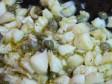 pasta baccalà capperi mollica croccante
