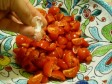 pasta pomodorini e crema di formaggio
