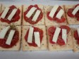 pizzette di crackers