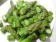 pasta con persico e asparagi
