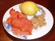 pasta salmone noci e limone