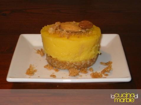 tortini amaretti mandorle e crema