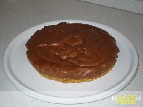 cheese cake ricotta e cioccolato