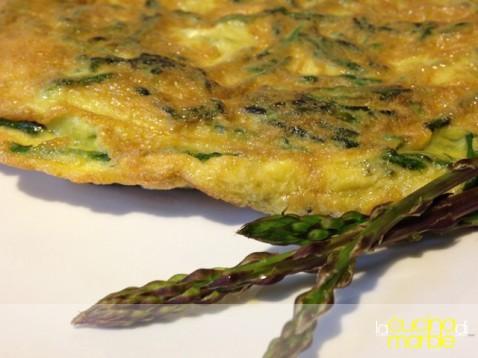 frittata di asparagi selvatici
