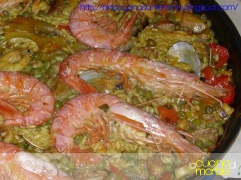 paella mista arricchita di Nino
