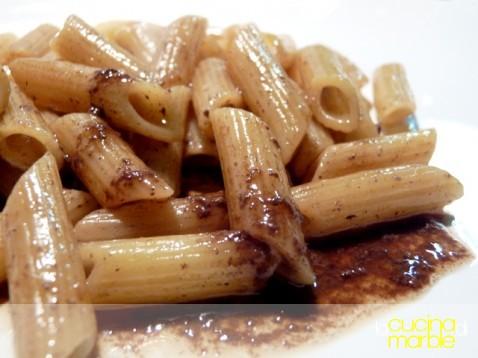 pasta con il sugo d'arrosto