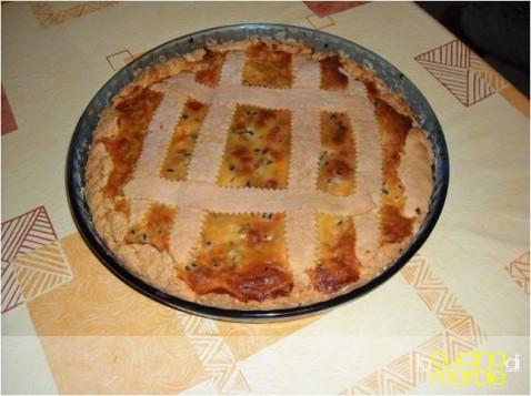 pizza rustica di ricotta