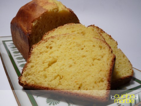 plum cake alla ricotta e arancia