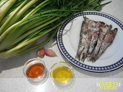 La cucina di marble pura gola vero amore puntarelle for Piatto tipico romano