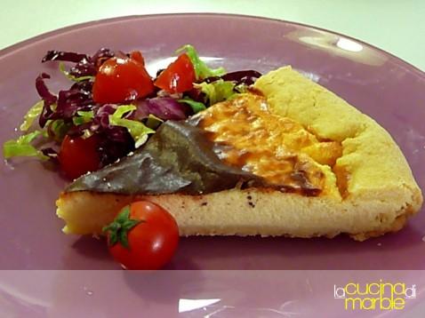 torta al parmigiano e ricotta