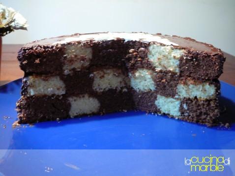 torta a scacchiera 1
